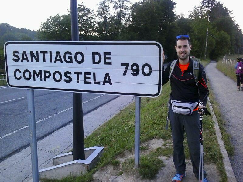 Camino Santiago Dani Perez irsicaixa