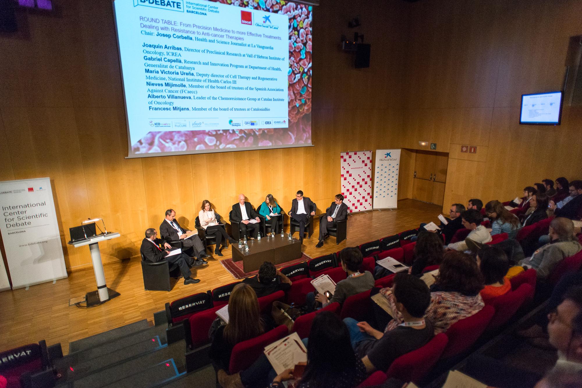 Mesa redonda - B·Debate Cancer Therapeutic Resistance