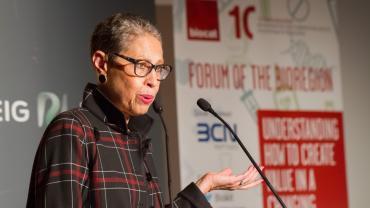 Susan Bannister al Fòrum de la BioRegió 2016, resum ponències