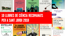 Sant Jordi Biocat llibres ciència recomanats