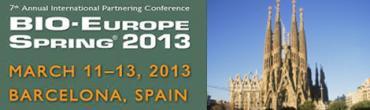 Bio-Europe Spring Barcelona 2013