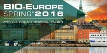 Bio-Europe Sprig Stockholm 2016