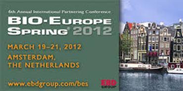 Bio-Europe Spring Amsterdam 2012