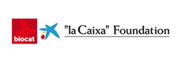 """Logo Biocat i """"la Caixa"""" Foundation"""