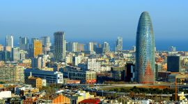 Barcelona landscape