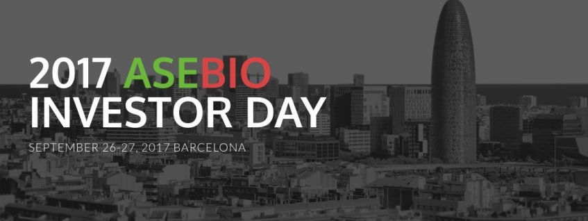 Banner Asebio Investor Day 2017