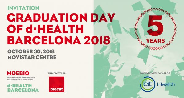 Graduation Day d·HEALTH Barcelona 2018 5 years