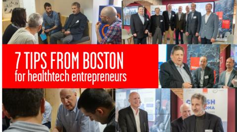 tips from boston for healthcare entrepreneurs CIMIT Biocat