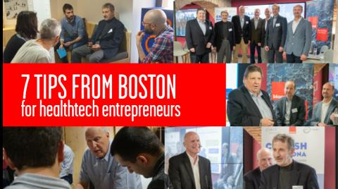 tips from boston for healthcare entrepreneurs CIMIT Biocat