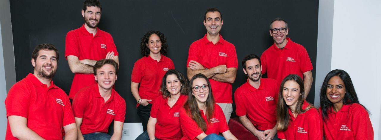 Fellows del programa d·HEALTH Barcelona, edició 2017