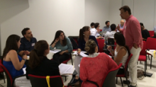 alumnes de la Summer School on Medicines