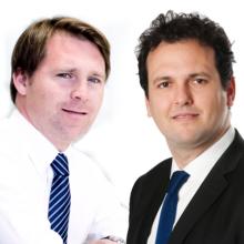 Josep Lluís Sanfeliu y José Antonio Mesa