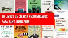 Sant Jordi Biocat libros ciencia recomendados